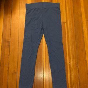 blue leggings from forever 21, worn once